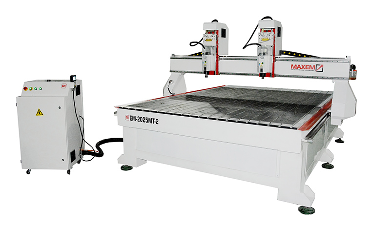 EM2025MT2 Double spindles CNC Router